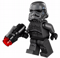 Lego Star Wars: Imperial Shadow Trooper with Blaster - Minifigure